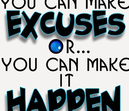 Average Vs Awesome: Erase Excuses, Don't Create Them